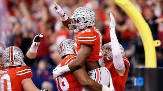Ohio State vs Wisconsin Big Ten Championship Game Highlights