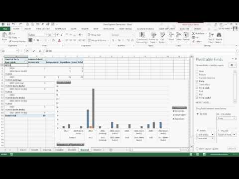 Excel's Data Explorer, Pivot Chart & Grouping of Dates