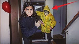 """I WAS AT HOME AND GEORGIE FROM """"IT"""" BROKE INTO MY HOUSE 