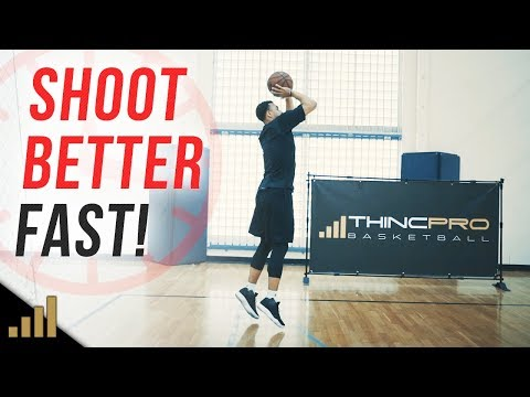 How to: Shoot a Basketball Better in ONLY 5 MINUTES PER DAY!!! (Daily 5 Minute Shooting Routine)