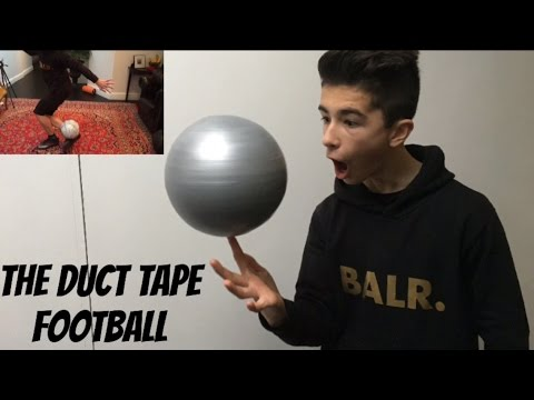 ULTIMATE DUCT TAPE FOOTBALL! THE BEST TOUCH EVER / MY FOOTBALL COLLECTION