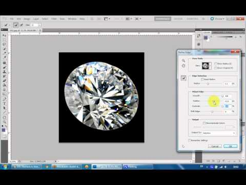 tutorial - create diamond brush with photoshop CS5