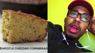 """Kalen Reacts"": Tasty Cornbread Reaction Video"
