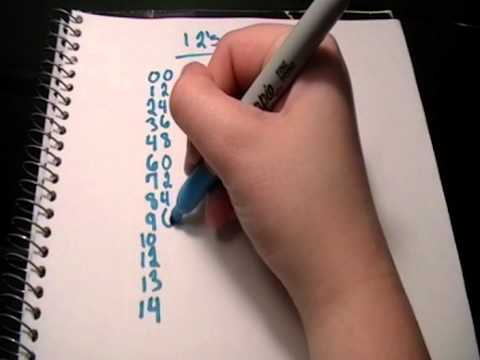12 Times Table Trick