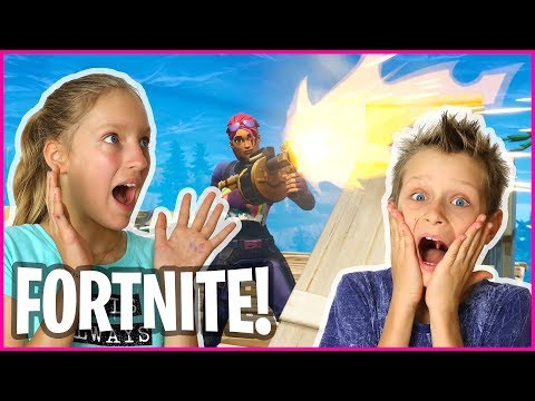 Brother Teaches Me FORTNITE!