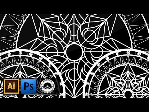 Rotate Tool Mandala Tutorial Illustrator Cs6