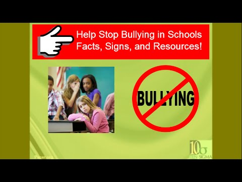 Bullying in schools - Facts, Signs, and Strategies to help students - Transition Tuesday