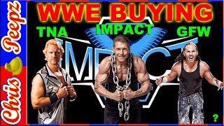 WWE BUYING (Bought) TNA News GFW IMPACT WRESTLING! Update, Broken Hardys, tape library, buys!
