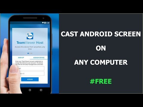 How to cast android screen on any computer for free (Hindi)