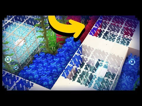 ✔ Minecraft: How to make an Underwater House