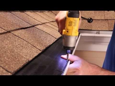 Inside Corner Installation   Raindrop® Gutter Guard