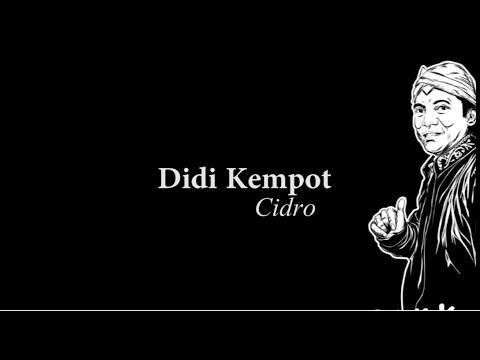 Lirik Lagu CIDRO By Didi Kempot Campursari - AnekaNews.net