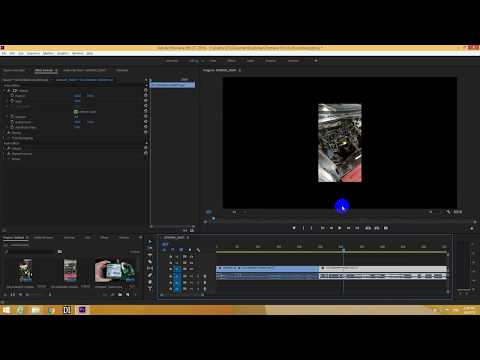 How to Fit clips to Frame size in Premiere Pro (SCALE to frame size vs SET to frame size)