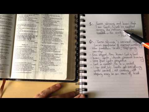 How to Study the Bible Using the SOAP Method