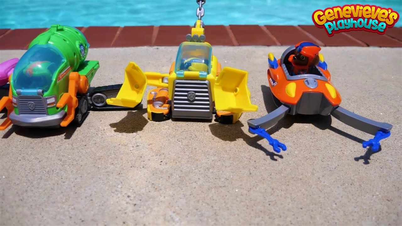 Paw Patrol Underwater Rescue and Superhero Movie!