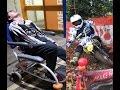 Pit Bike Crash Ends In Hospital Trip
