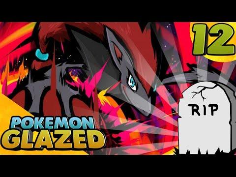 Let's Play Pokemon Glazed - 12 - Zoroark Vs Darkrai | RIP Zoroark