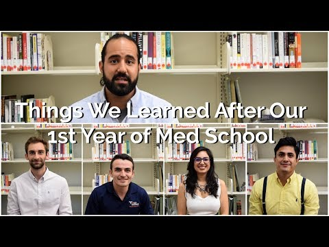 Things We Learned After Our First Year of Medical School