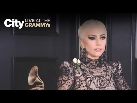 Lady Gaga on red carpet | City LIVE at the GRAMMYs