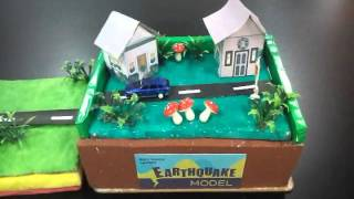 Science Project - Earthquake Model -  Sofi Hanif