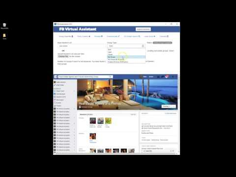 How to Download All Your Facebook Groups for Auto Posting - FB Virtual Assistant