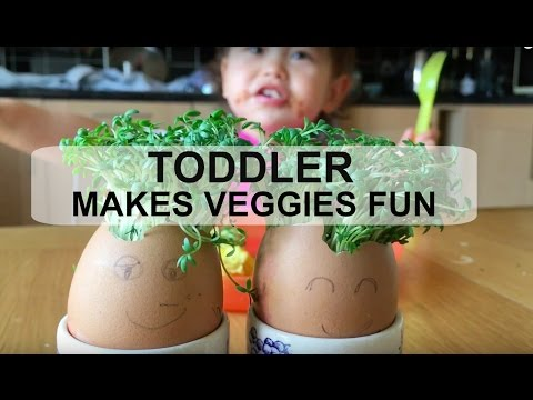 FUN WAY TO GET TODDLER TO EAT VEGETABLES