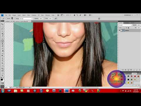How To Change Hair Color In Adobe Photoshop CS4