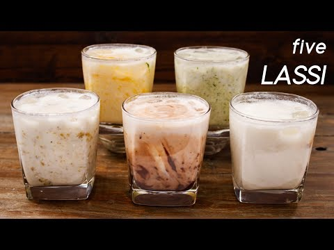 5 Lassi Recipes - Easy and Different Summer Drink Flavors - CookingShooking