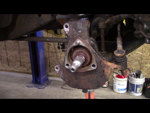 Upper and Lower Ball Joint Change Chevy 4x4 1500  2002