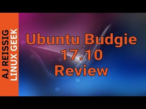 Ubuntu Budgie 17.10 Review