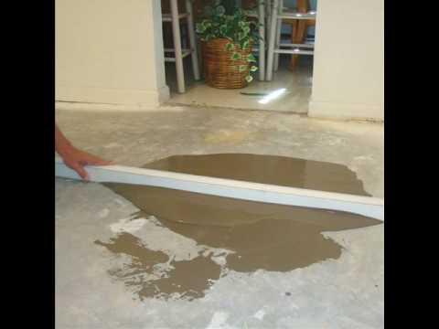 Floor Leveling For Hardwood Floors - Concrete