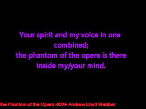 The Phantom of the Opera -2004- [Lyrics on screen]