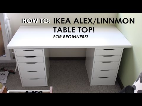 HOW TO SET UP IKEA ALEX/LINNMON DRAWERS - For Beginners! Throwback New Makeup Storage Vlog!