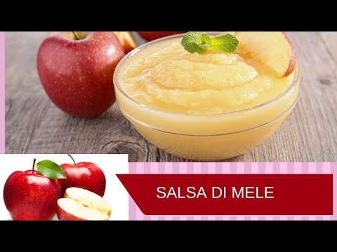 Salsa di Mele  /Homemade Organic Applesauce