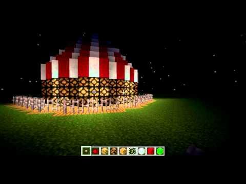 Minecraft -- Easy Redstone Lantern Lighthouse