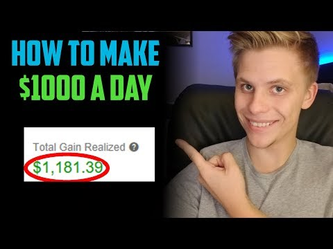How To Make $1000 A Day Trading Penny Stocks | Step By Step For Beginners