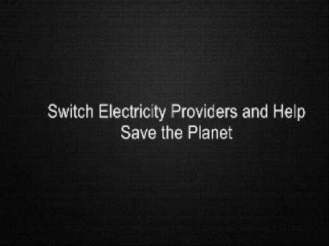 Switch Electricity Providers and Help Save the Planet