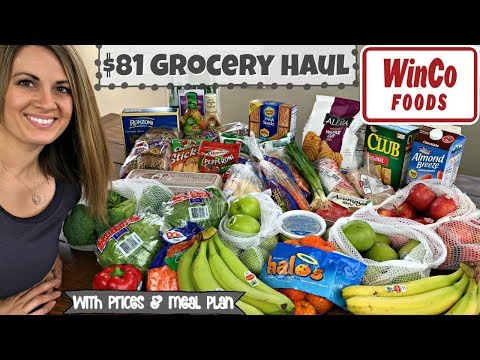 $81 WINCO HAUL :: FAMILY OF 5 :: WEEKLY GROCERY HAUL
