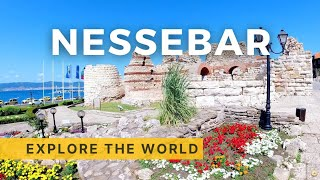 🇧🇬 Walking in NESSEBAR, Bulgaria | Black Sea | 4K HDR 60fps