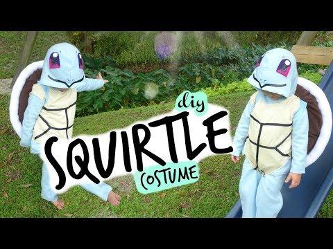 DIY Squirtle Pokemon Halloween Costume
