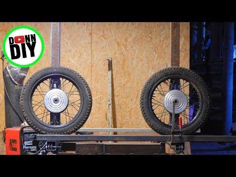 Homemade Portable Band Sawmill Build #14 - Sliders & Band Wheel Shafts