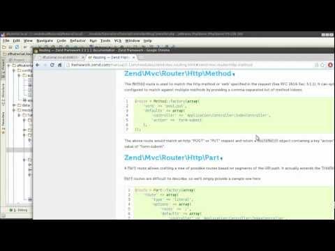 Zend Framework 2.1 tutorial 3: Routers