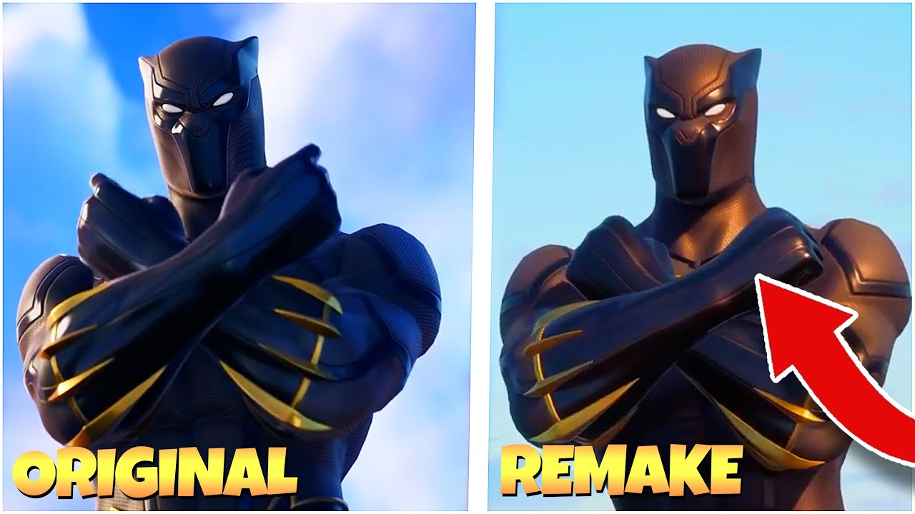 We Recreated the Fortnite Black Panther Trailer   Recreating Fortnite Trailers pt.25