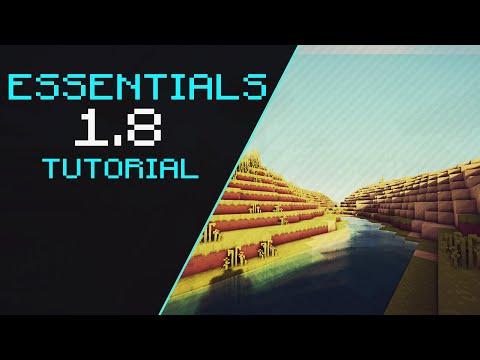 Minecraft Tutorial - Essentials for 1.8 [Download]