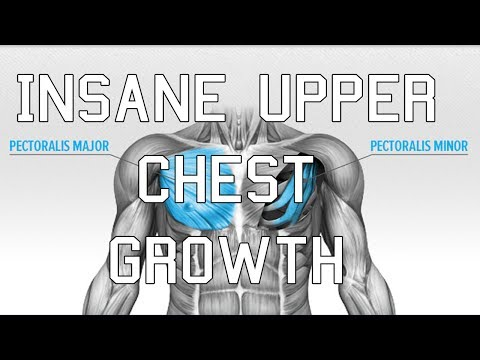 How to GROW your upper chest - Best Exercises for a BIGGER chest FST 7.