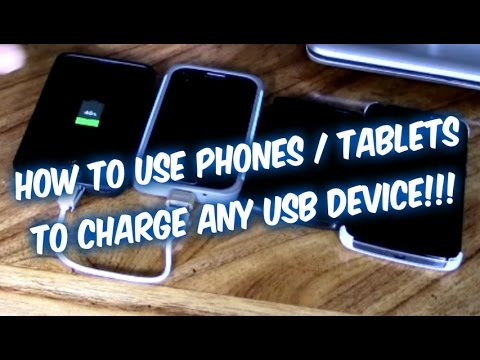 How to charge your phone battery without AC charger using other phones