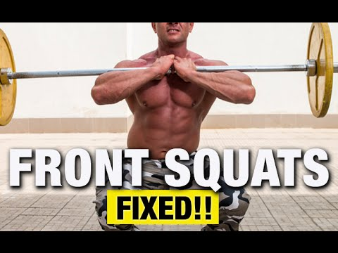 Front Squats Mobility Problems (FIXED!!)