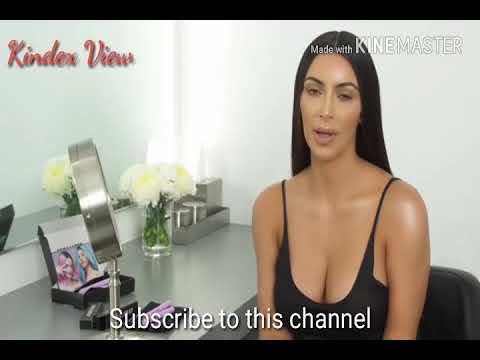Kim Kardashian Reveal Secret for her longer & thicker natural eye lashes
