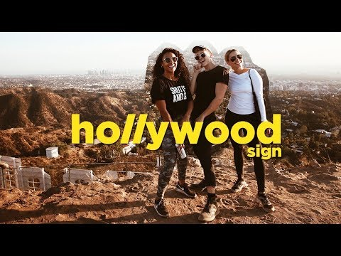 HIKING BEHIND THE HOLLYWOOD SIGN (ft. Cammie Scott) | Collabmas Day 9