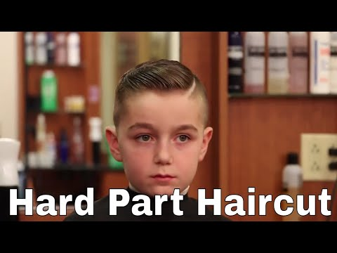 Comb Over with Hard Part Haircut - Greg Zorian Tutorial